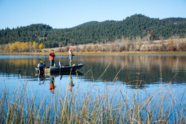 Fishing in Kamloops