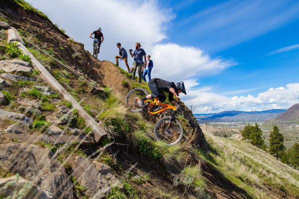 Mountain Biking in Kamloops