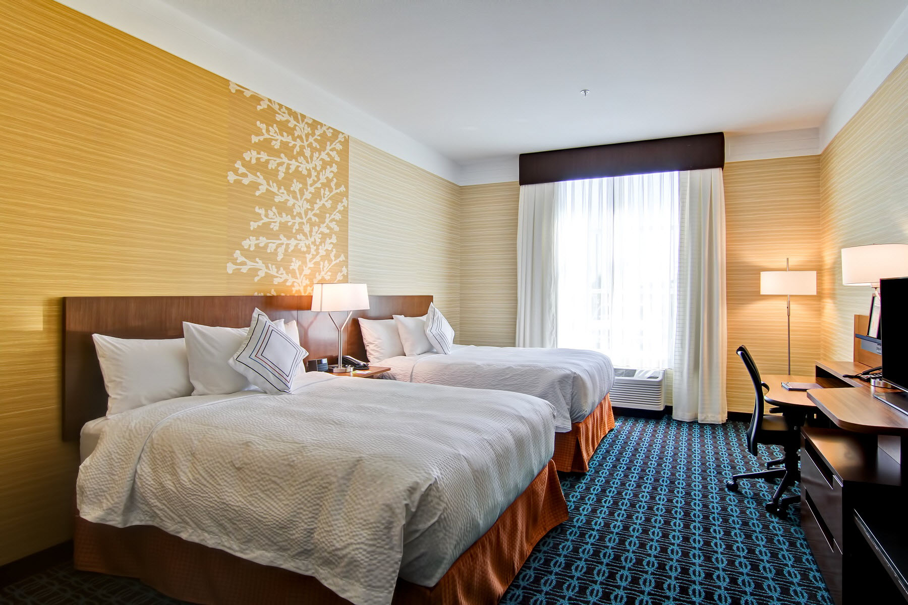 Fairfield 2 Queen Beds Room