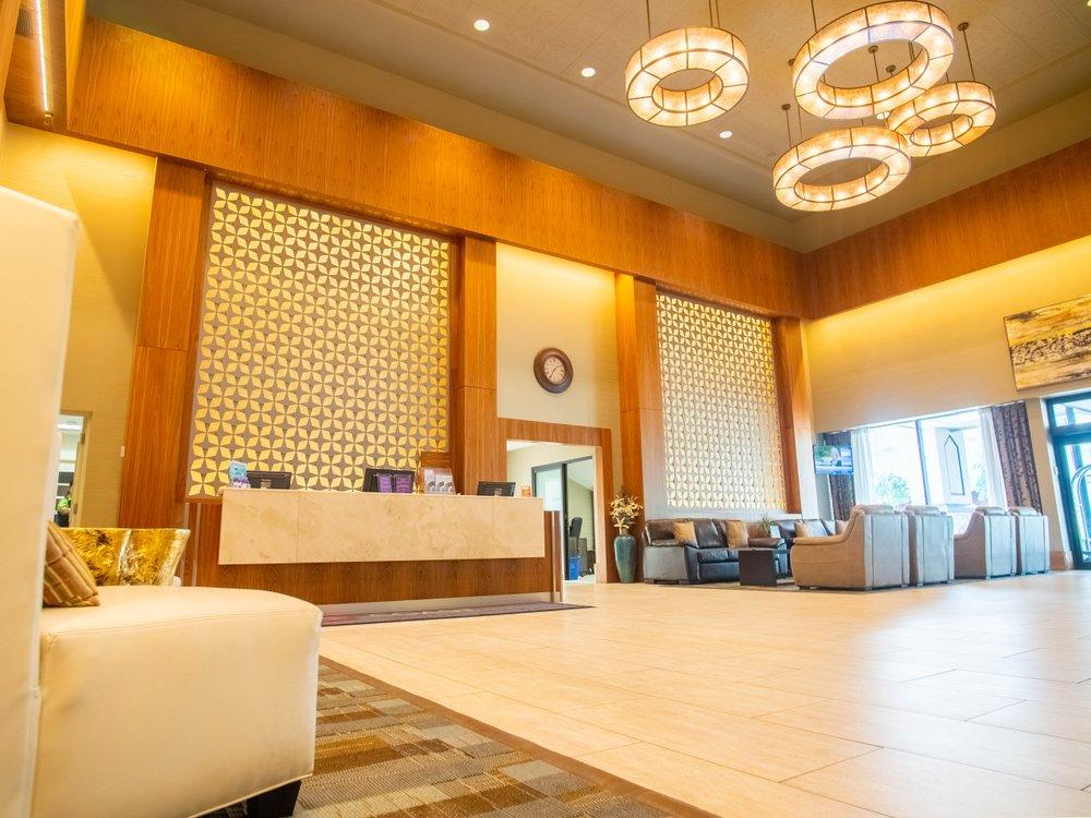 coast hotel interior lobby